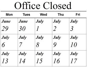 ClosedOffice2015